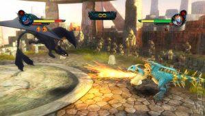How to Train Your Dragon video game screenshot