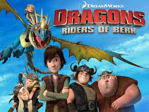 Dragons Riders of Berk Title Image