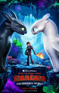 Poster of the third and final How to Train Your Dragon movie