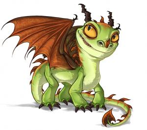 Terrible terror dragon