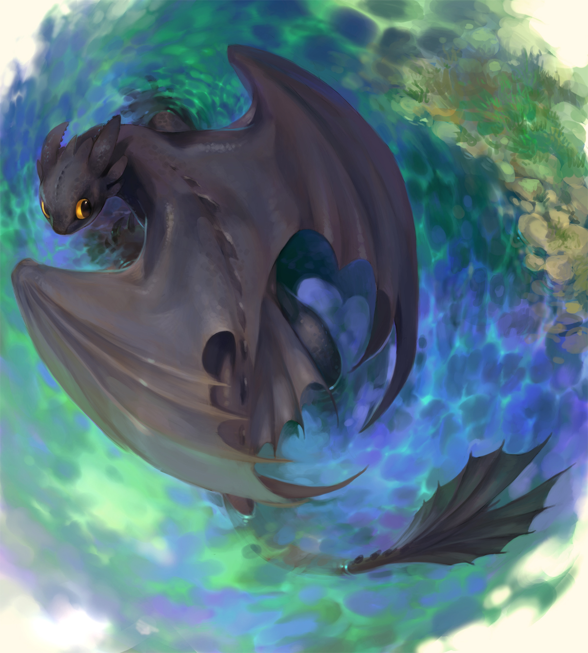 HTTYD Fanart Gallery #5 – Theme: For the Love of Toothless