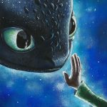Reaching out to Toothless